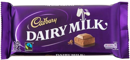 Dairy Milk Bar - 120gr. (c/21pzs)