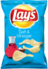 Lay's Salt & Vinegar - 6.5oz. (c/12pzs)