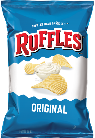 Ruffles Regular - 6.5oz. (c/15pzs)