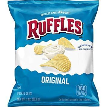 Ruffles Regular - 1oz. (c/45pzs)