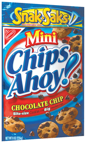 Chips Ahoy Mini - 8oz. (c/12pzs)