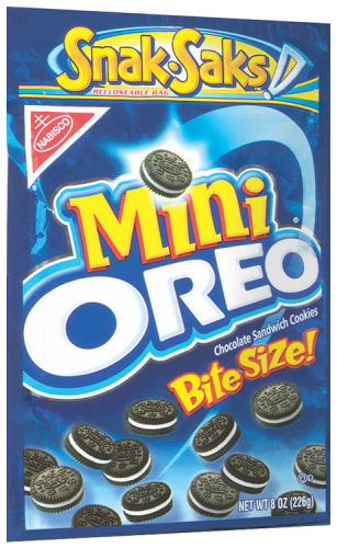 Oreo Mini - 8oz. (c/12pzs)