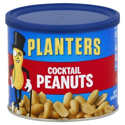 Cocktail Peanuts - 12oz. (c/12pzs)