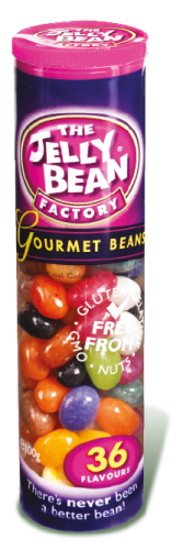 Jelly Bean Factory Gourmet Mix Tube - 100gr (c/24pzs)