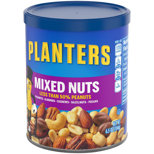 Mixed Nuts - 6.5oz (c/12pzs)
