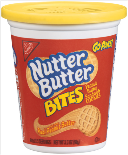 Nutter Butter Go Pack - 4oz (c/12pzs)