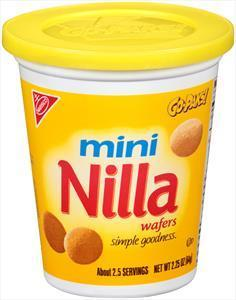 Nilla Wafers Mini Go Pak - 2.25oz (c/12pzs)