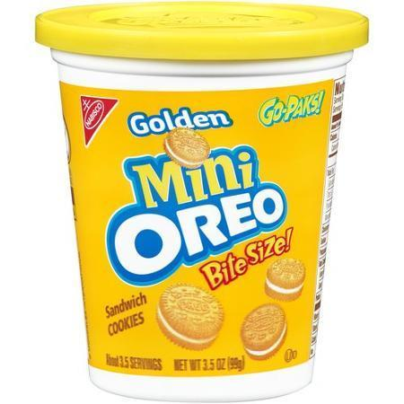 Oreo Golden Mini Go Pak - 3.5oz (c/12pzs)