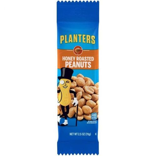 Honey Roasted Peanuts - 2.5oz (c/15pzs)