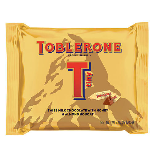 Toblerone Milk Chocolate Original Pillow Bag - 200gr (c/13pzs)
