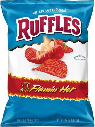 Ruffles Flamin Hot - 6.5oz (c/15pzs)